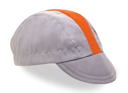 Walz Gery Cotton Cap - Orange Stripe