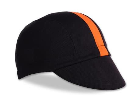 Walz Moisture Wicking Cap - Black and Orange