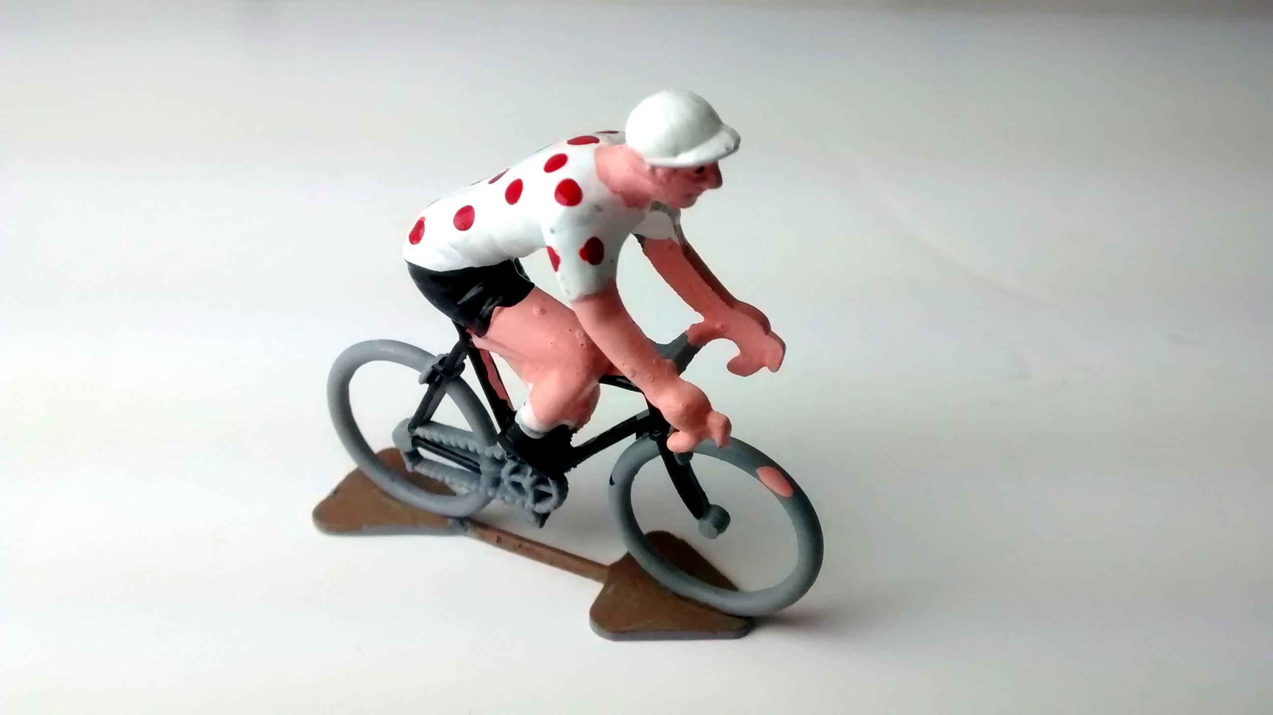 Polkadot Miniature Cyclist