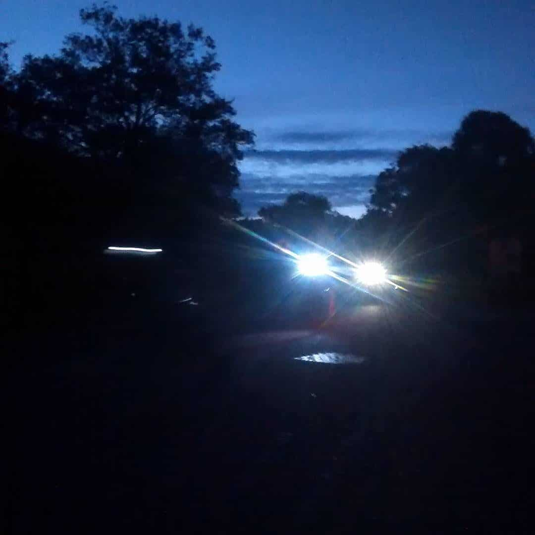 Into the night on the Dunwich Dynamo.