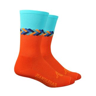 Handlebar Mustache Twisted Socks